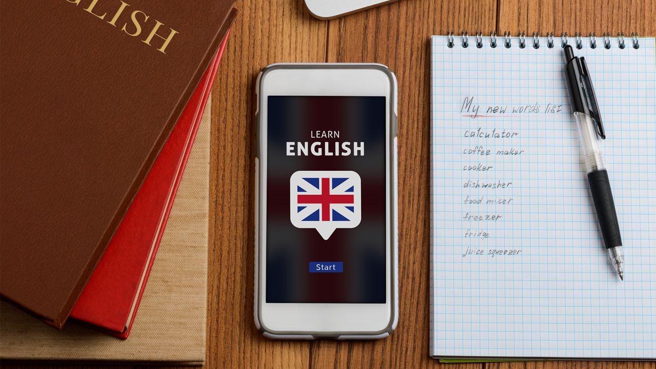 تطبيق تعلم اللغة الانجليزية